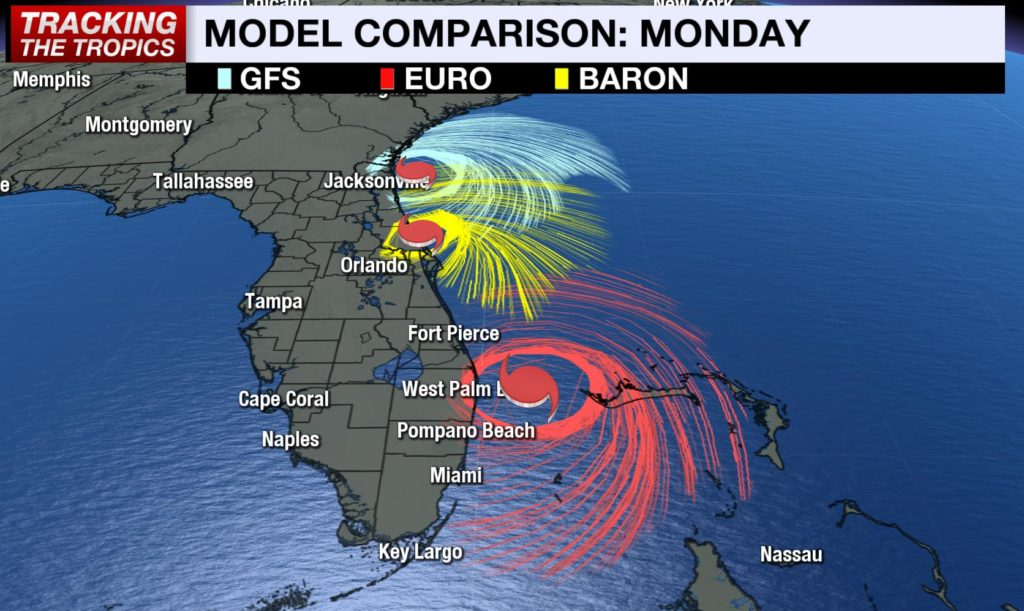 Hurricane Model Comparison Matt Gray WBBH