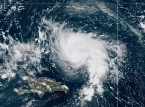 Hurricane Dorian Satellite Image